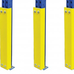 Shock Absorbing Upright Guards