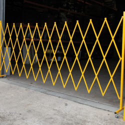Large Expanding Barrier