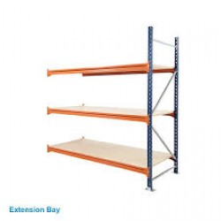 Budget 3 Shelf Longspan Shelving Bays 900mm Deep