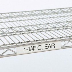 Metro Clear Label Holders