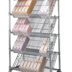 Metro Merchandiser Slanted Shelving Units