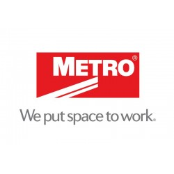 Metro Sper Erecta Stainless Steel Posts