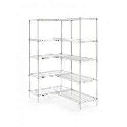 Metro Super Erecta 5 Shelf Add-on Bays