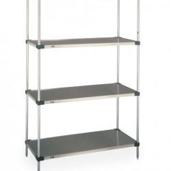 Metro Solid Stainless Steel Shelves