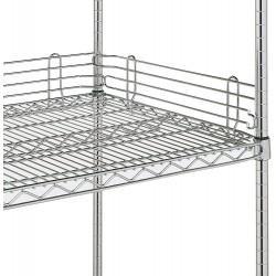 Metro Wire Chrome Shelf Ledges L14N-4C