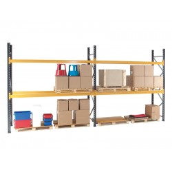 Adjustable Pallet Racking 2700mm Wide Bays