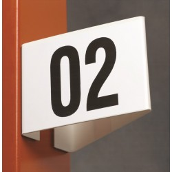 Angled Aisle Markers (Angled Type)