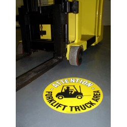 Self Adhesive Floor Graphic Markers